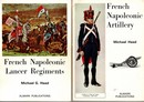 9 books in English about uniforms of Napoleonic period in Europe