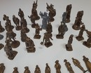Batch of 52 figurines mokarex