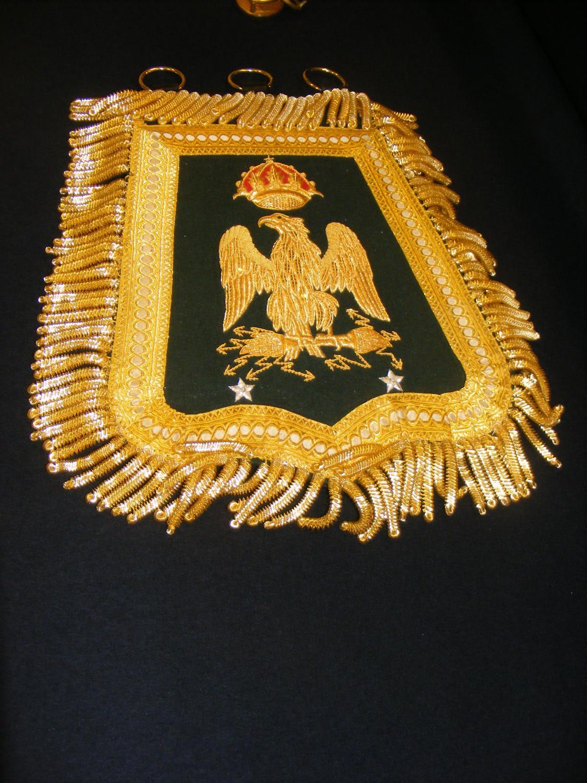 EmpireCostume - Général de brigade de cavalerie légère - Sabretache de grande tenue, 2ème version
