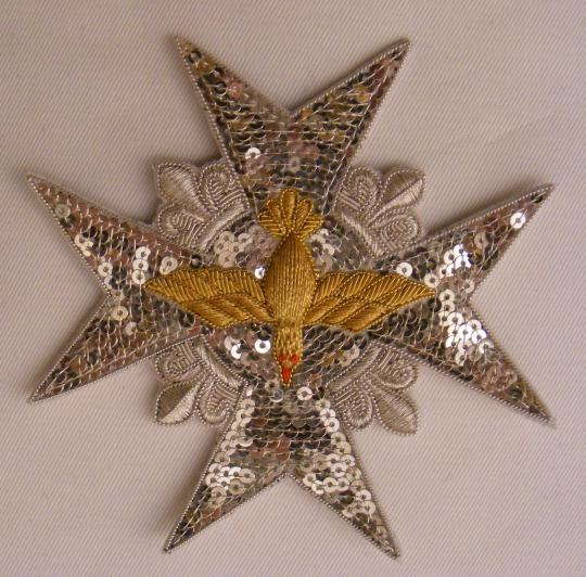 Copy of the decoration  of ordre du saint esprit, same as the one of louis XVI