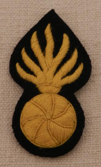 Police headgear grenades ornaments  for troopers, hand-embroidered