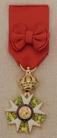 France: officer of legion d'honneur: 3rd type
