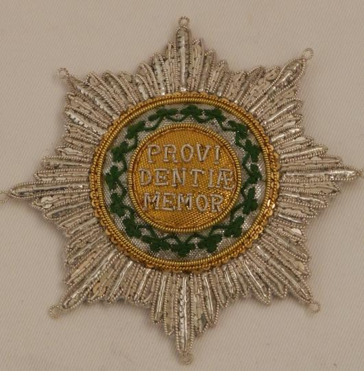 Order of Crown of Saxe, 1807, Grand Croix
