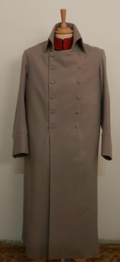 Grey coat of the emperor, Grey melton or cotton for Saint Helena