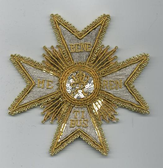 Empirecostume Wurtemberg Ordre Du M Rite Militaire 1er