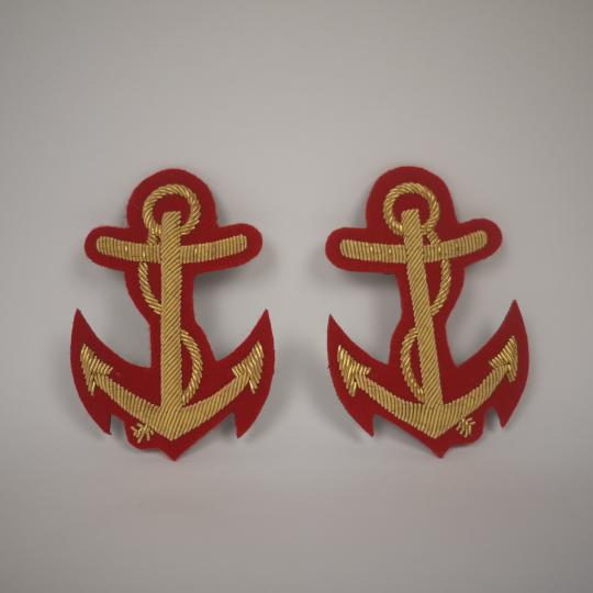 Anchor with cords - The pair