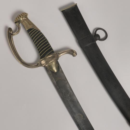 Light cavalry officer or staff officer sabre