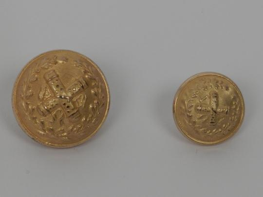 Marshalls buttons, 3 rd and 4 th republic type.