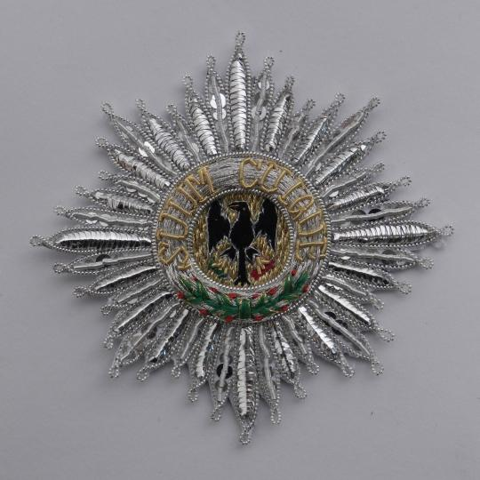 Prussia: order of black eagle of prussia. New type