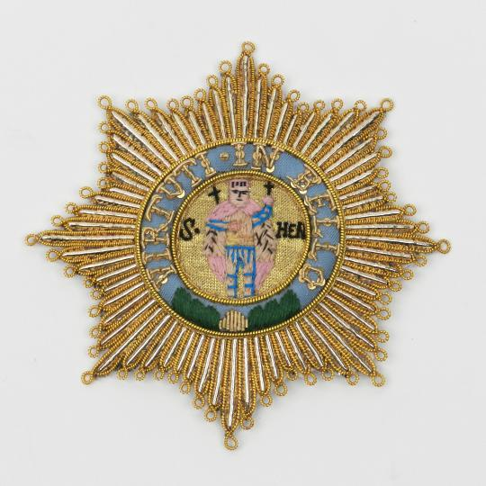 Saxe: military order of Saint Henri of Saxe