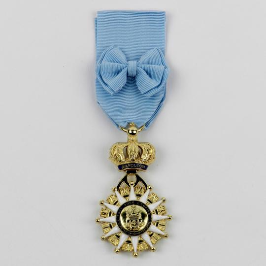 Order of the Réunion: jewel with ribbon.