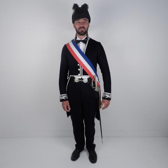 French mayor uniform, from second Empire....till today by antikcostume
