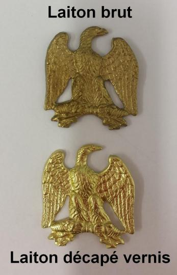 Samm eagle in brass 19x 20 mm