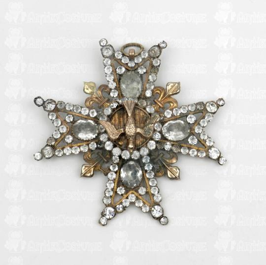 Order of Saint Esprit, jewel with strass