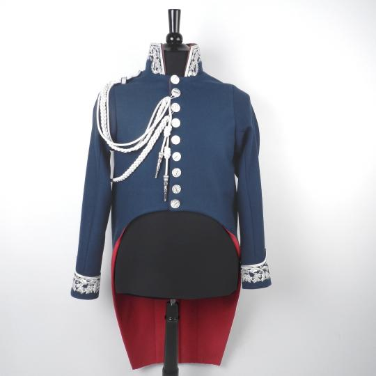 Uniform: commissaire des guerres, cuffs in cavalry style