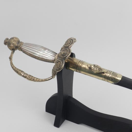 Court sword for staff officer, 1st Empire