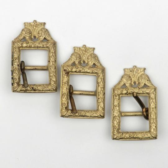 3 buckles for staff officers, copies