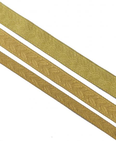 Oak leaves braid, gold or silver, 25 mm and 38 mm