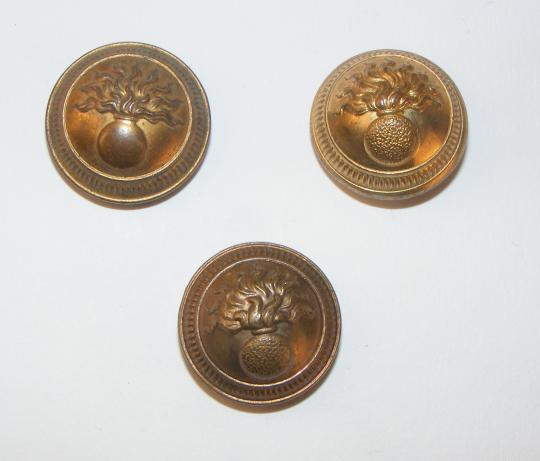 Infantry officer buttons, 1893 type, 3rd republic, 22 mm