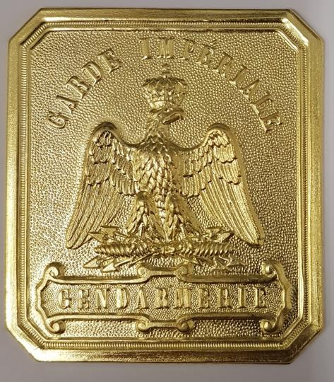 Gendarmerie imperiale, front of buckle