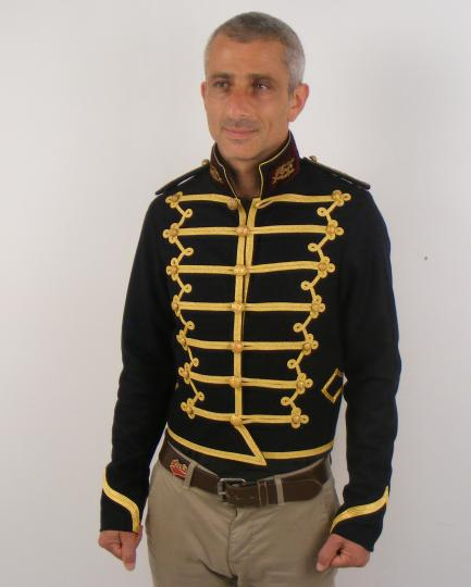 Light cavalry style jacket for a doctor of  XXI st century