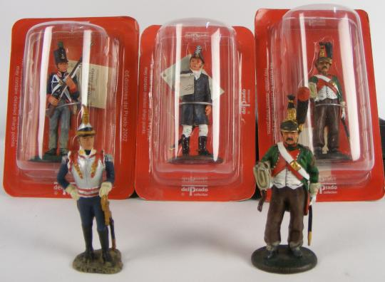 Figurines: soldats de l'Empire, Del Prado, price per unit