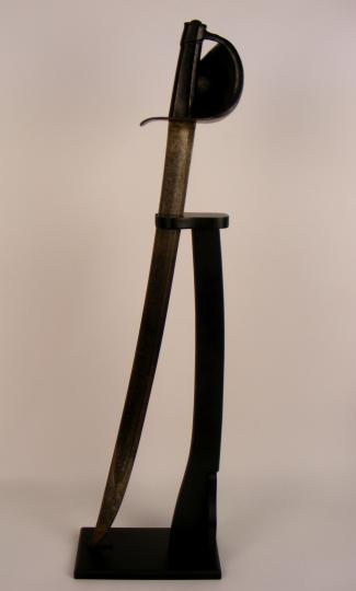 Cutlass sabre for fencing, 1833 type