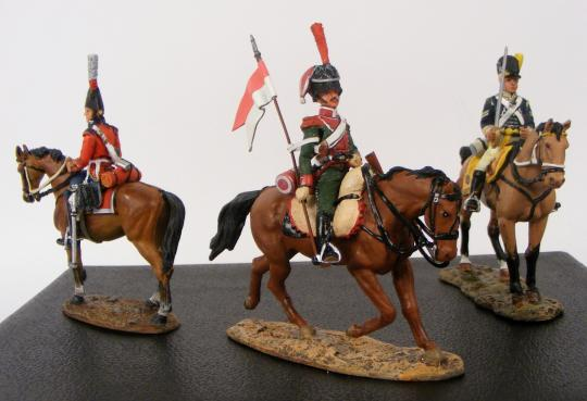 Figurines: cavaliers de l'Empire, Del Prado , 81 to 120, price per unit. NEW ARRIVAL. With boxes