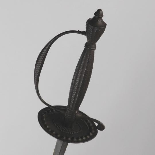 Court sword with new scabbard, circa 1770-1790