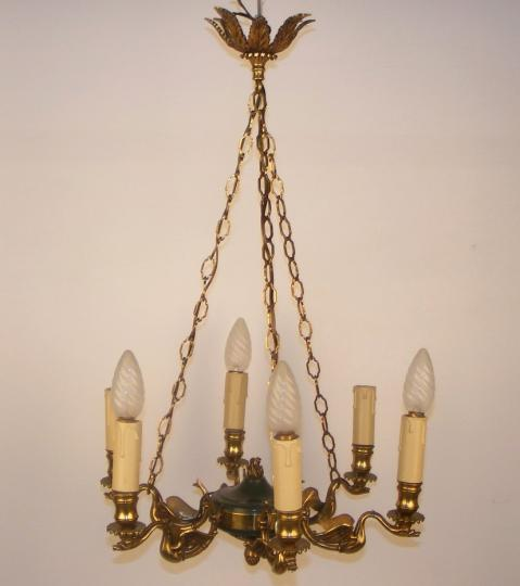 Empire style chandelier