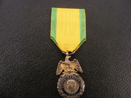 Military medal - Second Empire- Second type- Sold in 30 mn!