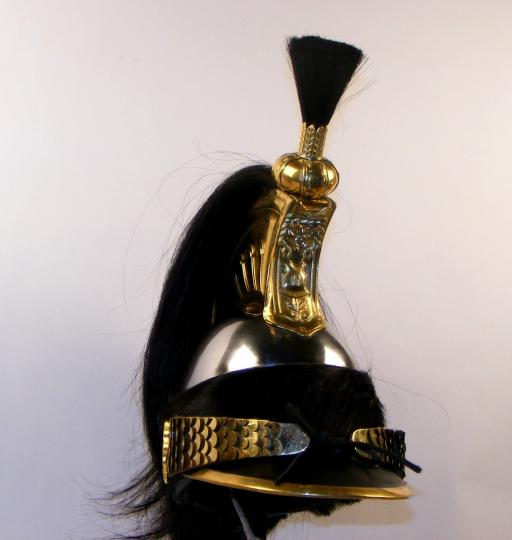 Cuirassier helmet, troop, 1 st Empire.