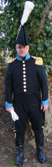 Uniform for aide de camp, made on less than a week end!!!