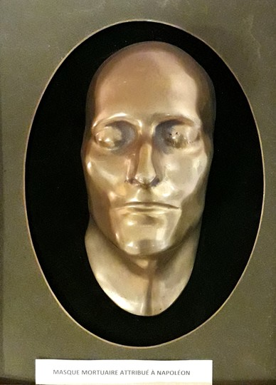 Death mask attributed to Emperor Napoléon
