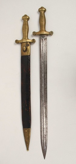 2 swordss for fireman or cantinière  1833-1870