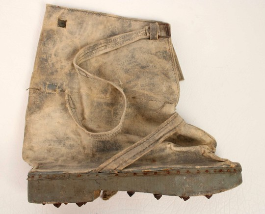 Overboots for trenches. WWI