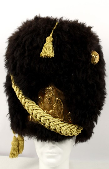 Bearskin hat for infantry of guard, sheep fur , Officer, cord made in Asia. ONLY ONE ON STOCK