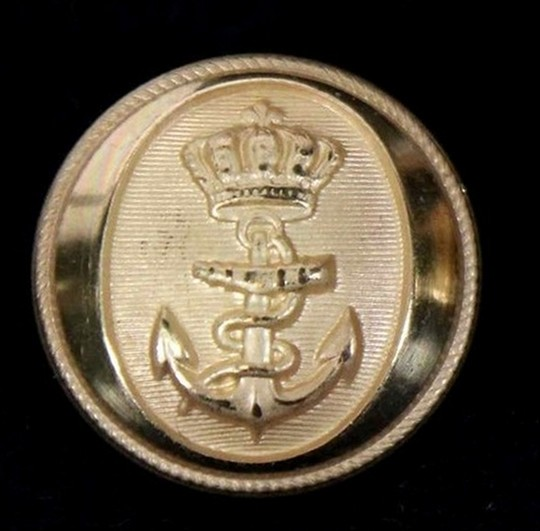 Gilded buttons - Spanish marine - 18mm by 1000