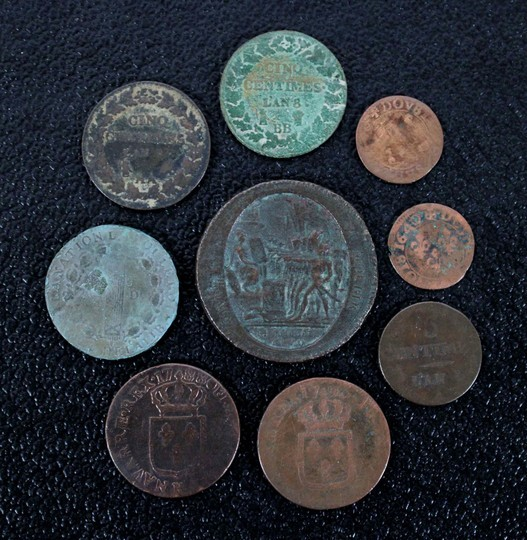 9 coins from royalty to revolution