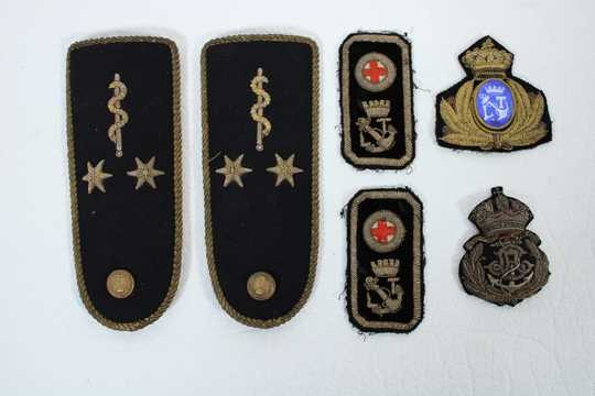 Austro Hungarian embroideries for doctor of marine