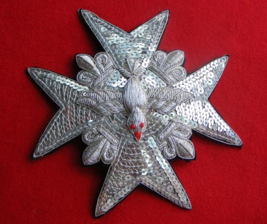 Order of Saint Esprit, all silver