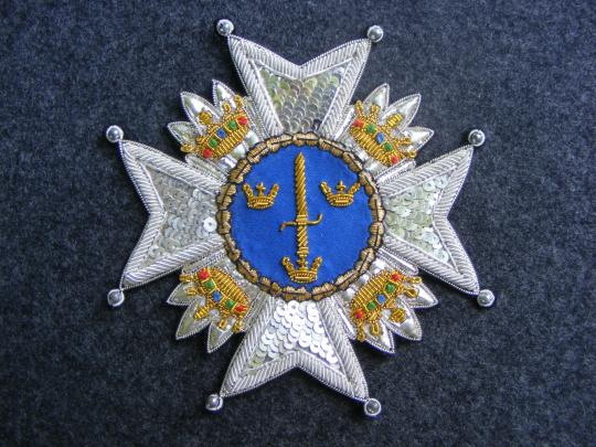 Sweden: order of sword