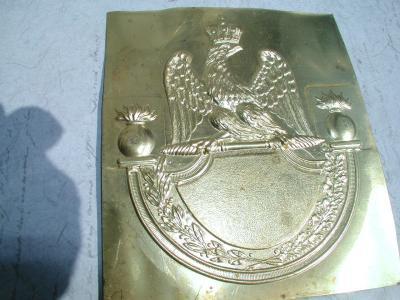 Empirecostume R 233 Glement De 1812 Plaque De Shako Non