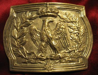 Belt buckle for  guard infantry, none on stock